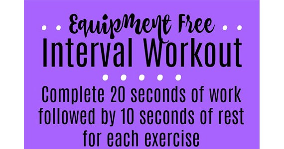 An Equipment Free Total Body Workout in Under 30 Minutes