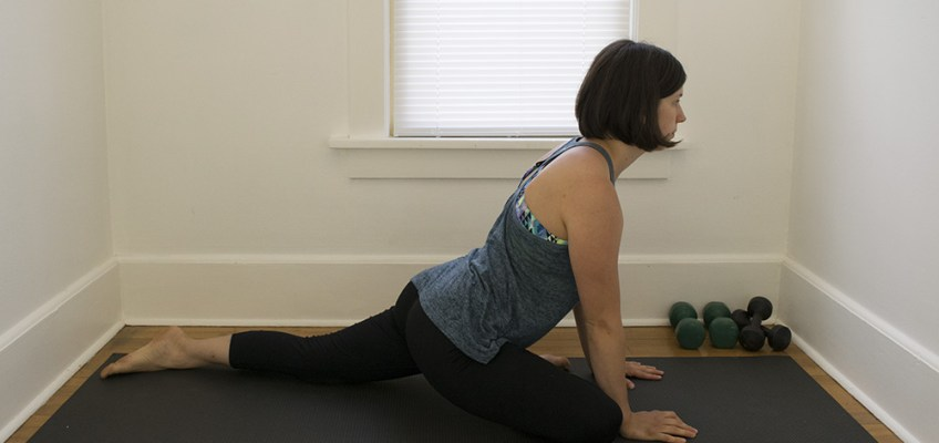 Stretches For Outer Hip and Knee Pain