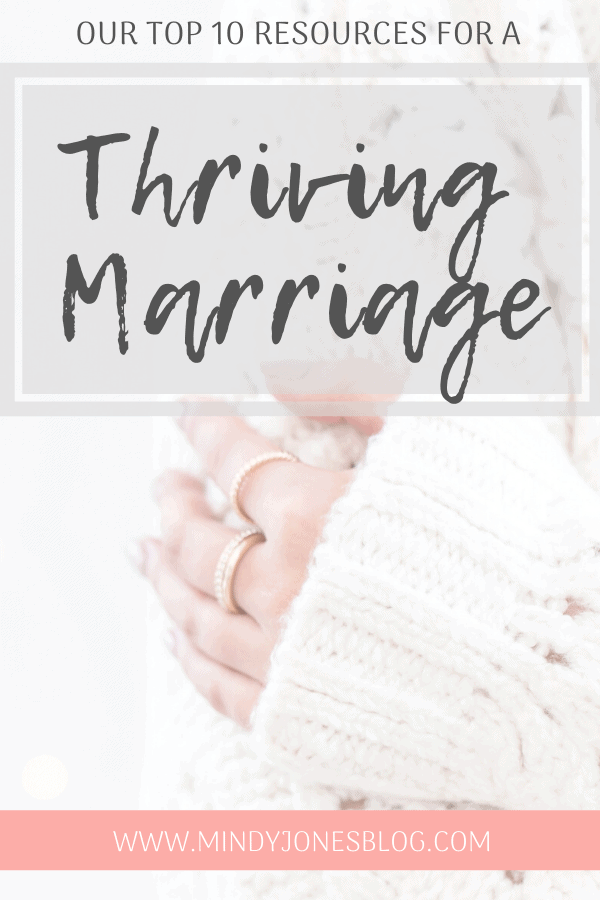 10 resources for a thriving marriage, hand with rings