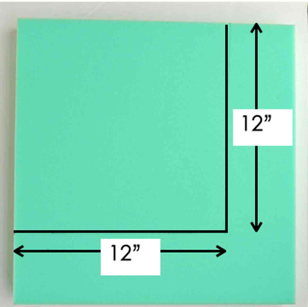 How to Measure Foam to make square bar stool cushions