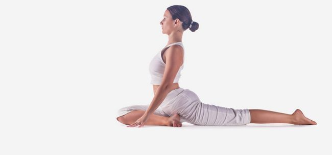 What are the health effects of regular yoga practice on the back and spine? 3