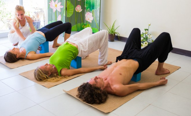 Which is best for posture and knee pains yoga, pilates, yogilates, or stretching? 33
