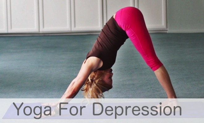 What are some yoga methods to deal with mental stress? 1