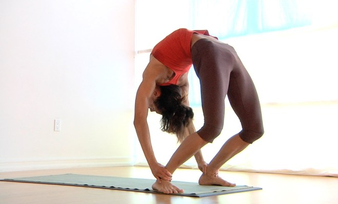Which yoga poses can help lower back strain, without causing further pain? 30