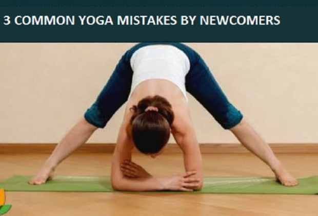 common yoga mistakes by yoga newcomers