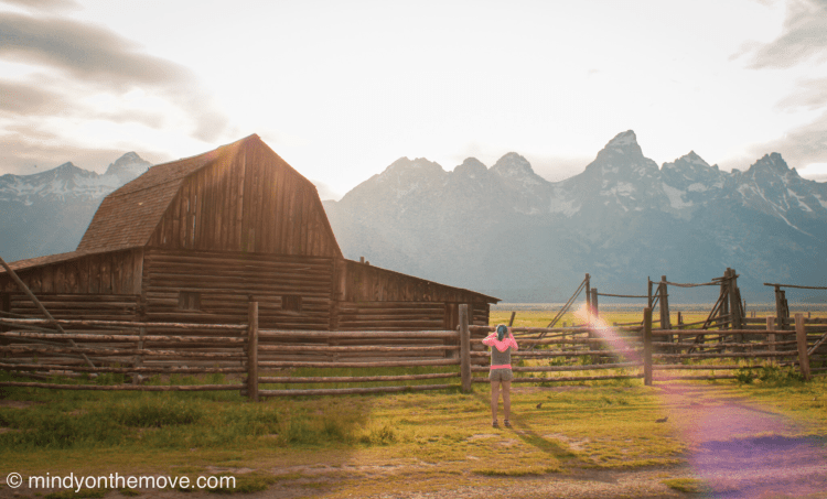 best photo op of the grand tetons in wyoming