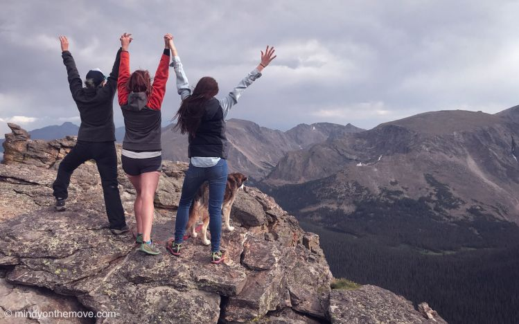 girl's colorado road trip
