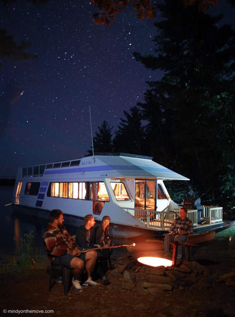 Voyageurs National Park houseboat