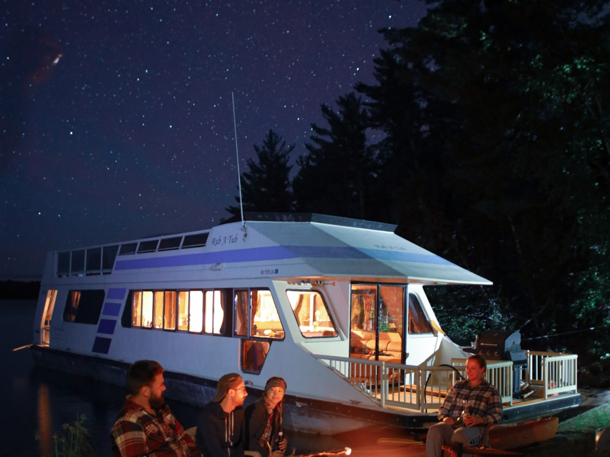 Voyageurs National Park houseboat