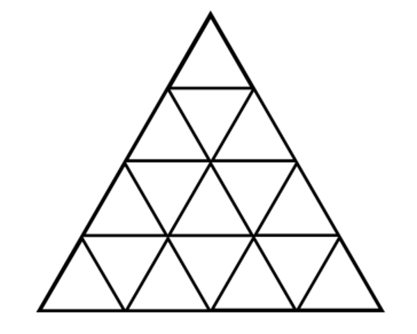 how many triangles are in this picture sunday puzzle mind your