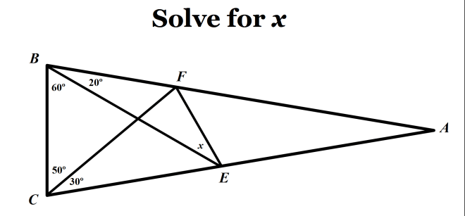 how to solve geometry problems