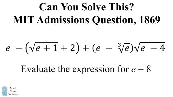 Mit admissions essay