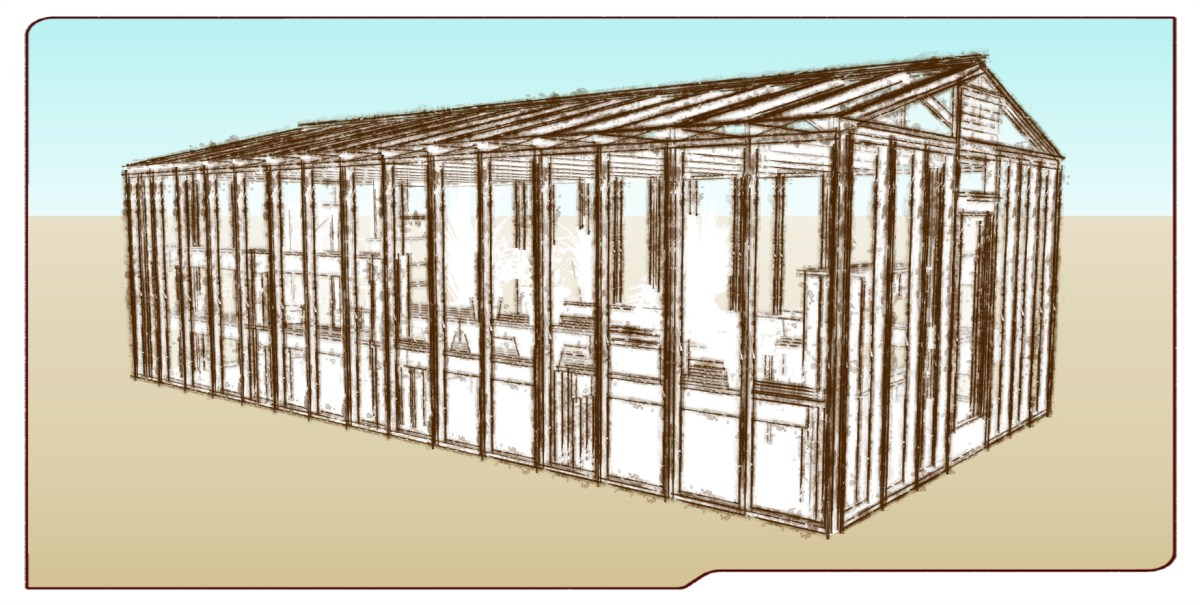 Designing a Giant Greenhouse for the Ocean View Growing Grounds