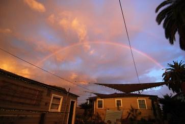 OMG! A double rainbow above MYD farms