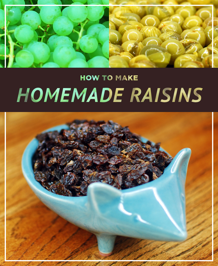 The Grapes of Wrath Part II: How to make Homemade Raisins in the Oven