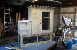All built and ready for teak oil