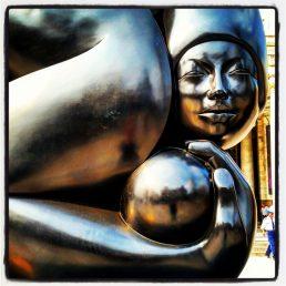 Mexico City Courier Trip 26_Palace of Fine Arts Exterior Sculpture