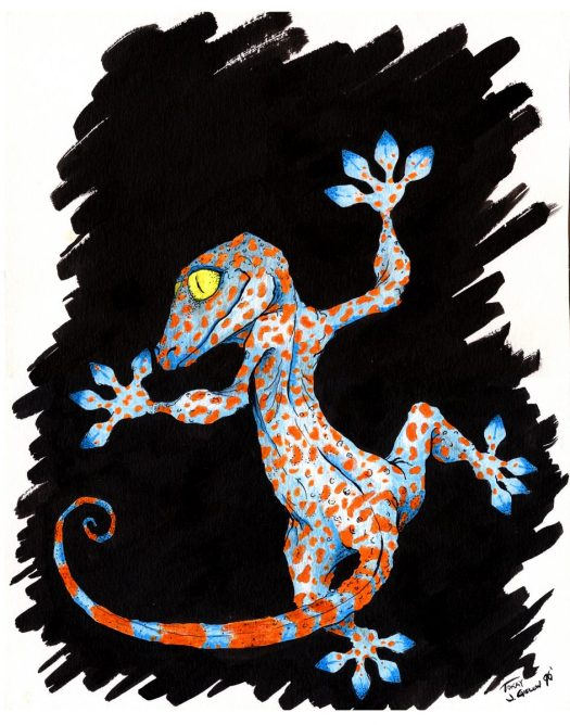 My Secret Life as a Political Cartoonist_1996_Gecko