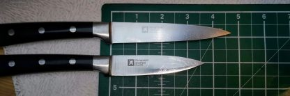 Small knives with blade length not more than 5 inches - 12.7 cm.