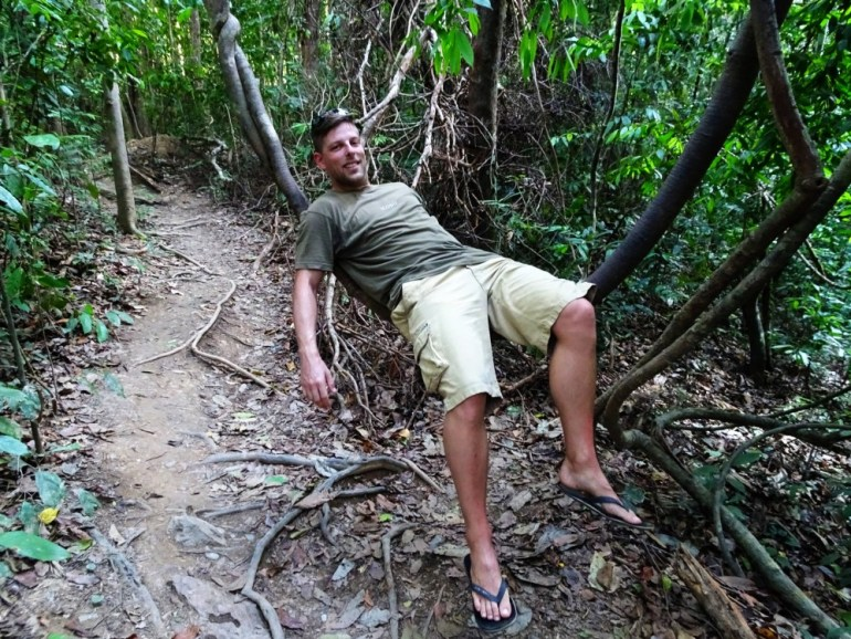 Abhängen im Regenwald Koh Lanta