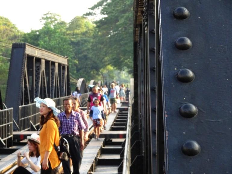 Brücke am River Kwai Kanchanaburi