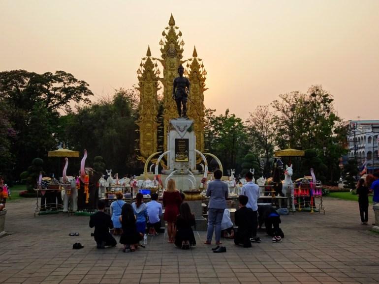 Königsstatue Chiang Rai