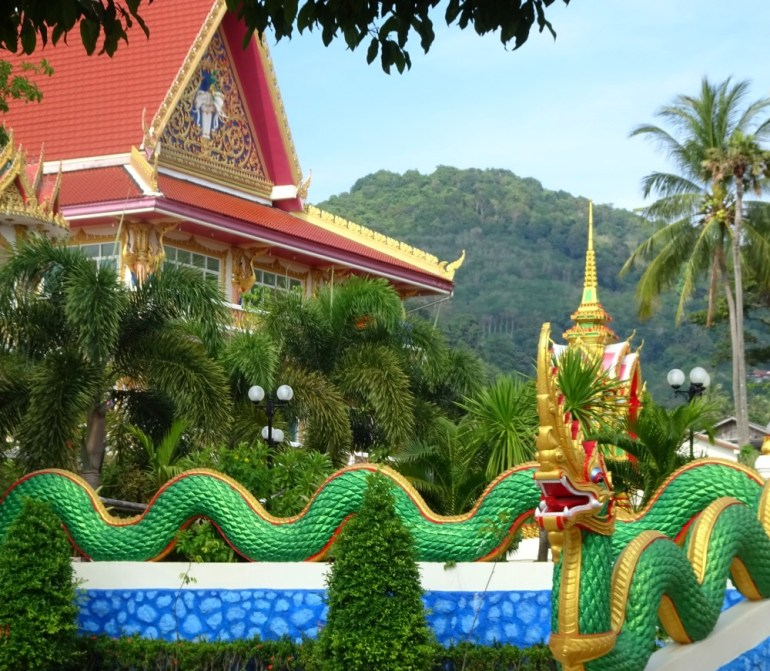 Tempelanlage Kata Beach Phuket