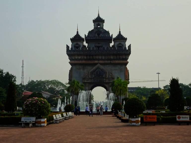 Triumphbogen Vientiane