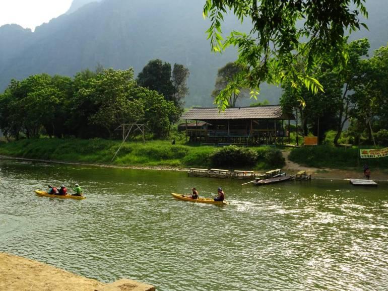 Vang Vieng no more Tubing
