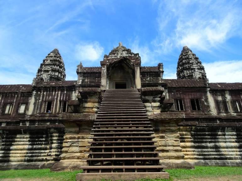 Angkor Wat Seitlicher Teil