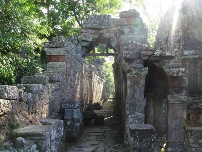 Angkor Wat Sonne