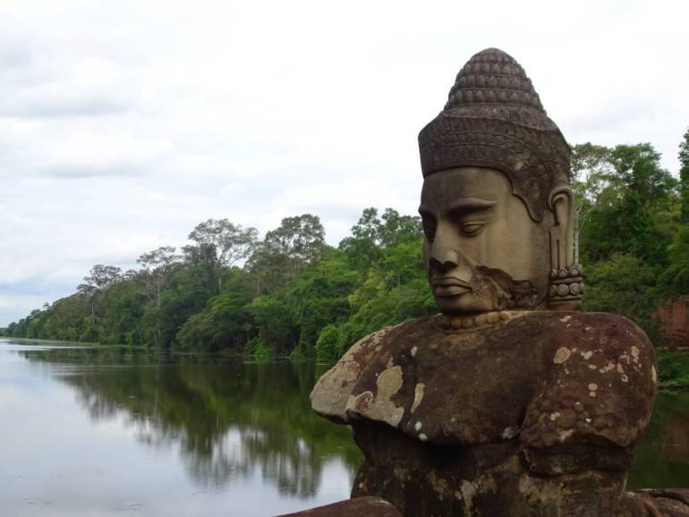 Statue angkor Wat