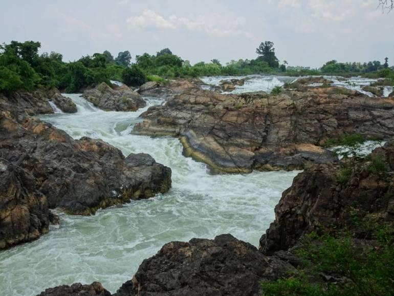 Li Phi Wasserfall Don Khone