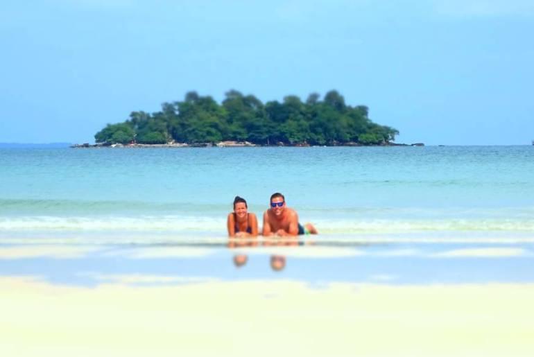 4 K Beach Koh Rong