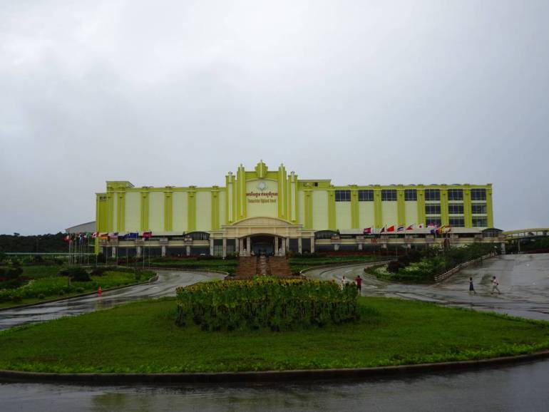 Altes Casino Berg Kampot