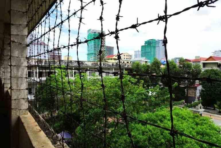 Aussicht vom Toul Sleng