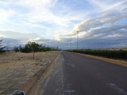 Straße auf Halbinsel