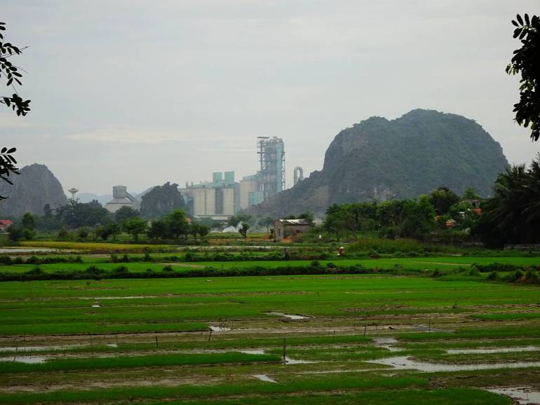 Tam Coc riesige Fabrik