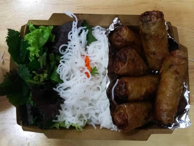 Bun Nem in Hanoi