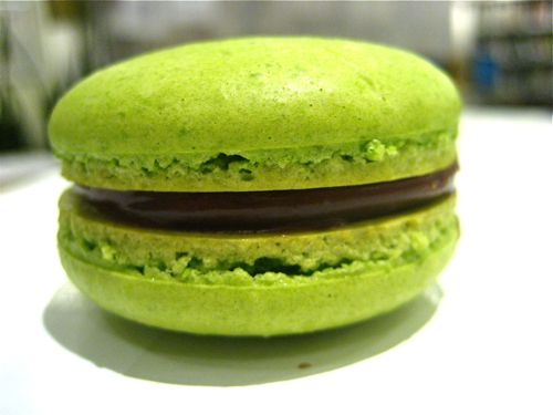 pistachio and chocolate ganache