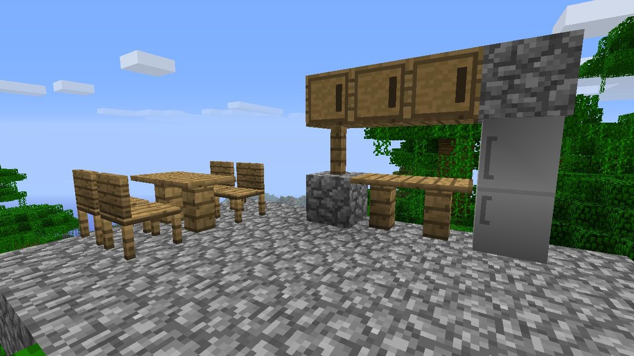 Mod Gameplay Furniture Mod 18 Minecraft Aventure
