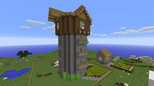 ᐅ Build Storage Tower / Residential Tower in Minecraft