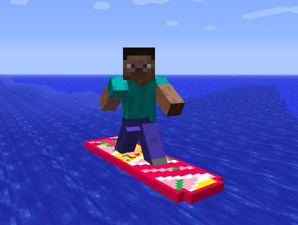 Minecraft Back Future Delorean