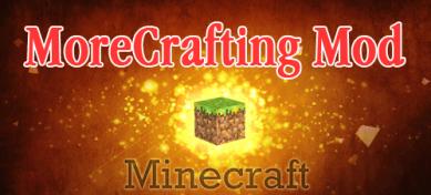 Mehr Crafting Rezepte (More Crafting Mod) für Minecrft 1.4.7