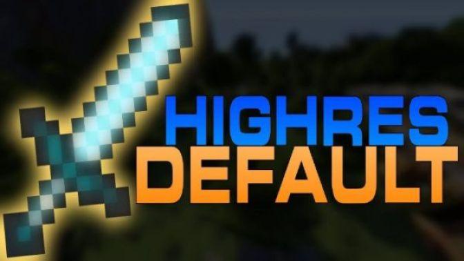 HighRes Default Texturepack