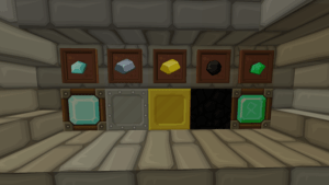 SphaxPureBD Craft Resource Pack: Diamond, Iron, Gold, Coal, Emerald