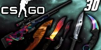 Animated 3D CS:GO PvP Texture Pack