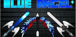 Blue Angel Minecraft PvP Texture Pack