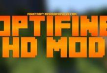 Optifine HD Mod
