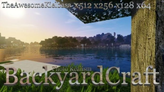 BackyardCraft Resource Pack: Title